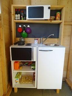 DIY tuto Une mini-cuisine jouet, comme IKEA.