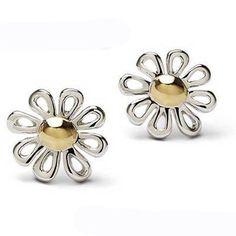 Tiffany Outlet Paloma Picasso Silver Daisy Stud Earrings. Next 1/2 marathon reward?
