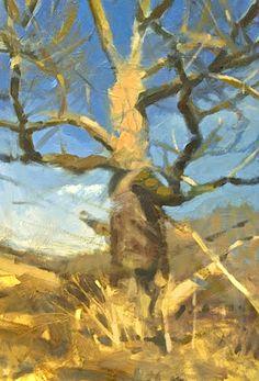 """bofransson:  Frank Hobbs/ """"Oak, Winter,"""""""