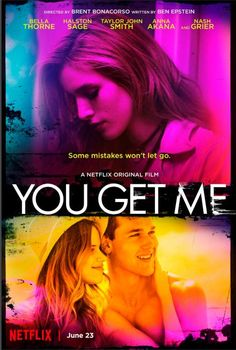 Trailer, featurette, images and poster for the thriller YOU GET ME starring Bella Thorne, Taylor John Smith and Halston Sage. Streaming Vf, Streaming Movies, Hd Movies, Movies Online, Movie Film, Watch Movies, Films Netflix, Netflix Original Movies, You Get Me Movie