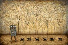 Духи леса Энди Кехо - Ярмарка Мастеров - ручная работа, handmade