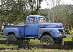 Blue Ford 50 by swainboat on Flickr. This is the old truck I would want !!!