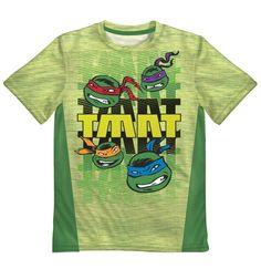 Butterfly Green Full Logo Kids Tee Shirt Boys Girls Unisex 2T-XL