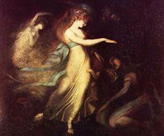 Amoral Tricksters that Enhance World Mythology and Entertain Cultures -   Prince Arthur and the Fairy Queen by Johann Heinrich Füssli, c. 1788