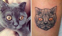 11 tatuagens sensacionais inspiradas em animais de estimação - Mega Curioso