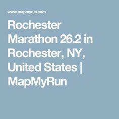 Rochester Marathon 26.2 in Rochester, NY, United States | MapMyRun