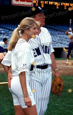 Sd0608 Celebrity Softball Game Donald Trump and Marla Maples Photo By:stephen…