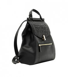 Reiss Alto Quilted Leather Rucksack // #Shopping #Backpack