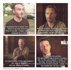 Andrew Lincoln, Rick Grimes, The Walking Dead