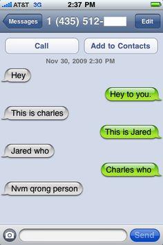 Funny Text Message Conversation, via Flickr.