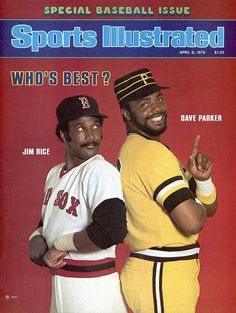 Boston Red Sox Jim Rice And Pittsburgh Pirates Dave Parker Sports Illustrated Cover Photograph by Sports Illustrated Boston Red Sox Players, Sports Baseball, Baseball Stuff, Baseball Players, Baseball Cards, Baseball Pics, Baseball Wall, Baseball Teams, Sports Pics