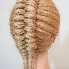 Braided Hairstyles Tutorials, Easy Hairstyles For Long Hair, Braids For Long Hair, Hair Tutorials, Hairstyles 2018, Short Hair Makeup, Blonde Hair Makeup, Medium Hair Styles, Long Hair Styles