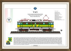 V-43 Hungary, My Drawings, Train, Pictures, Strollers, Trains, Paintings, Clip Art