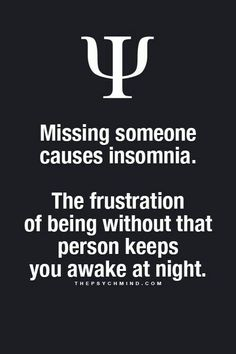 So if the one your sleepless over... is sleeping like a baby.... hmmm