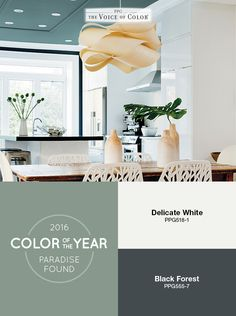 Paint Color Ideas 7 Bright Ways With Yellow and Orange Popular Paint Colors, Green Paint Colors, Kitchen Paint Colors, Family Room Colors, Ppg Paint, Paradise Found, Color Of The Year, Painting Inspiration, Nature Inspired
