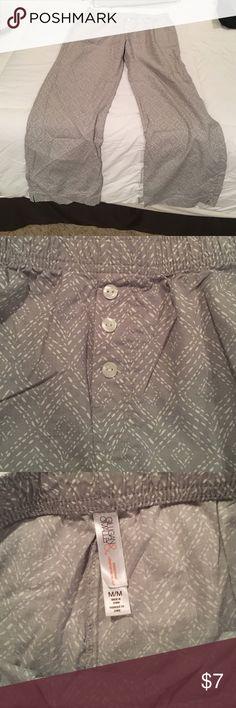 NEVER WORN; comfy light pj pants. NWOT NEVER WORN; comfy light pj pants from Target. Size M Gilligan & O'Malley Other