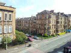 I love my street. Glasgow West End. Beautiful architecture.