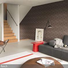 Tapete steinoptik wohnzimmer  Tapete #Stein #Wanddekor #Ziegelstein #Design #Wohnzimmer ...
