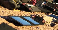 Solar Recharging Kit | Recharge electronic devices everywhere using solar power