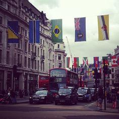 Regent street #olympicready