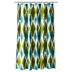 Threshold™ Large Ikat Print Shower Curtain $14.99-$17.99