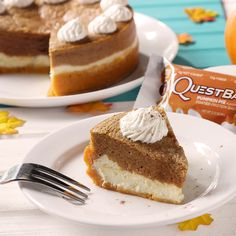 Quest Pumpkin Pie Cheesecake