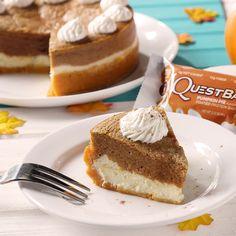Quest Pumpkin Pie Cheesecake
