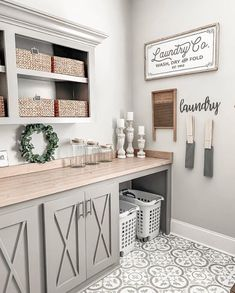 159 a dream laundry room makeover 135 Laundry Room Inspiration, Laundry Mud Room, Mudroom Laundry Room, Room Makeover, Diy Farmhouse Decor, Dream Laundry Room, Room Remodeling, Laundry Room Decor, Home Decor