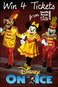 North Texas Kids is giving away 4 tickets to see Disney on Ice - 100 Years of Magic Thanksgiving week!