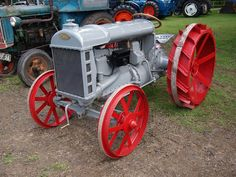 Fordson F Farm Tractors - 1921 | by imagetaker!