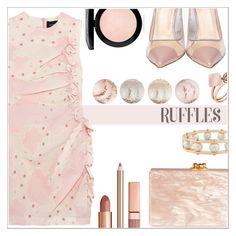 """Ruffles"" by simona-altobelli ❤ liked on Polyvore featuring Simone Rocha, Semilla, Edie Parker, Lele Sadoughi, Michael Kors, Dolce Vita, MAC Cosmetics, MyStyle, ruffles and polyvorecontest"
