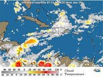 Onamet vaticina lluvias en la tarde por vaguada y viento del Este - Cachicha.com