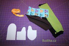 RoB: Rukavice od Budilky - fotonávod - Budilka Textiles, Fabrics, Textile Art
