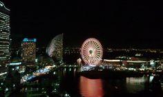 Yokohama Bay.