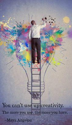 #Creativity starts here!