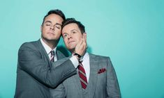 Ant and Dec reunited: 'I wanted to punch him and hug him at the same time' Ant N Dec, Declan Donnelly, Holly Willoughby, Our Friendship, Tv Presenters, The Guardian, Ants, Comedians, Hug