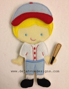 Softball Uniform & Bat for dress up dolls: can be made in any colors