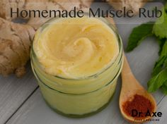 Homemade Muscle Rub This homemade muscle rub really works! It penetrates deep into the muscles, bringing a soothing and relaxing sensation. This is one of my favorite things to use after I've done my BurstFIT workout!