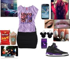 """""""Watching Love And Basketball 3"""" by rayraylover-143 ❤ liked on Polyvore"""