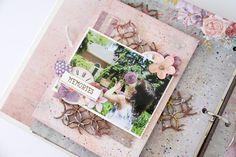 Mini Álbum Heirloom Botanicals -