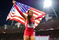 Sanya Richards-Ross Takes Gold for Team USA in Women's 400m