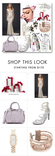 """""""White Christmas Look!!"""" by stylediva20 on Polyvore featuring Alexander Wang, Stuart Weitzman, Marc Jacobs, Chan Luu and Tory Burch"""