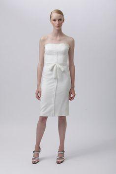 Monique Lhuillier Resort 2012 Fashion Show
