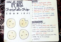 Recipe on how to make only 4 cookies