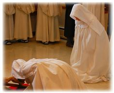 """""""Vocation is different from talent. One can have vocation and not have talent; one can be called and not know how to go.""""  Cistercian Nuns, Valley of Our Lady Monastery"""
