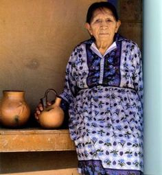 Remarkable Woman, and Taos Pueblo potter Virgina Romero. #taos #newmexico