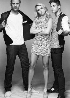 Jacob,Becca, and Dean: Chalk Magazine.
