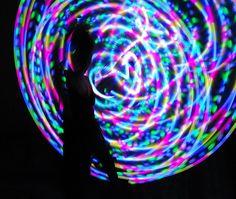 Moodhoops Lotus LED Hula Hoop
