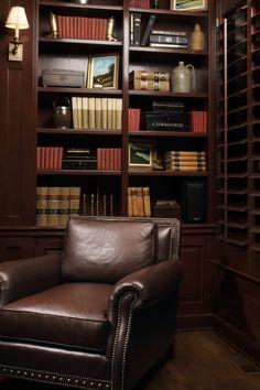 ML Interior Design #library #office or #den