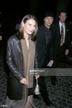 Brad Pitt and Claire Forlani News Photo | Getty Images